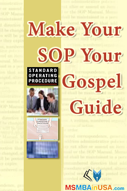 Make SOP Purpose Your Gospel Guide