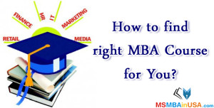 right MBA Course for You
