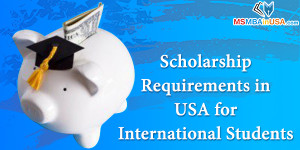 Scholarship Requirements in USA for International Students