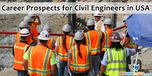Career Prospects for Civil Engineers in USA