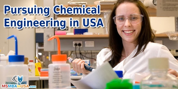 Pursuing Chemical Engineering in USA