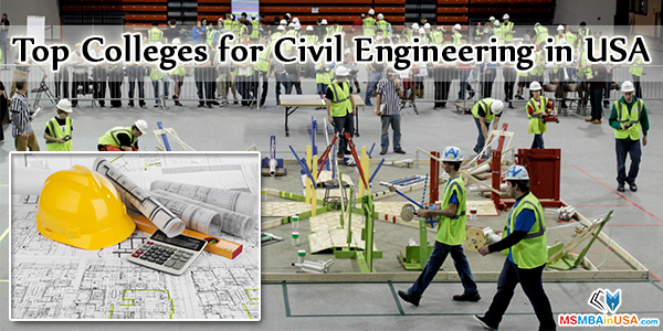Top Colleges for Civil Engineering in USA