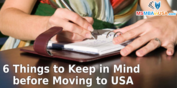 6 Things to Keep in Mind before Moving to USA