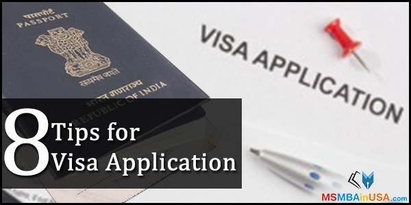 8 Tips for Visa Application