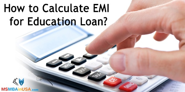 How to Calculate EMI for Education Loan?