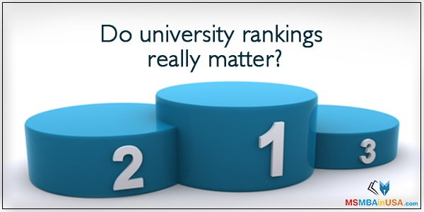 Do university rankings really matter?