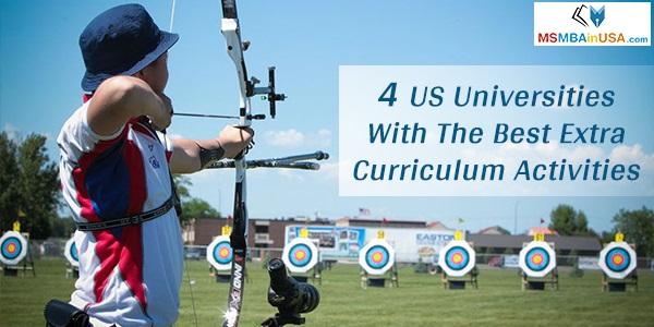 4 US universities with the best extra curriculum activities