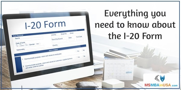 Everything you need to know about the I-20 Form