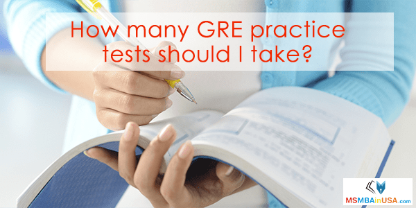 How many GRE practice tests should I take?