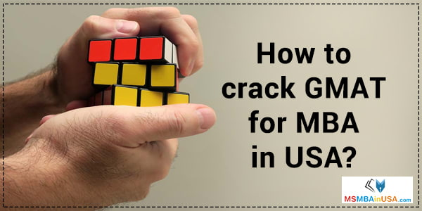 crack GMAT for MBA in USA